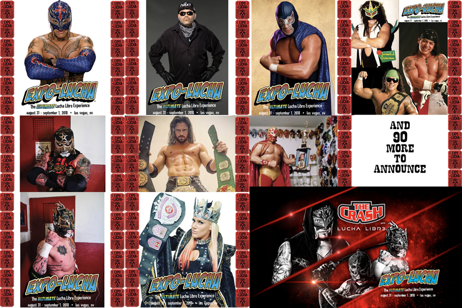 EXPO LUCHA! THE ULTIMATE LUCHA LIBRE EXPERIENCE!